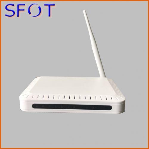 1 port GE + 3 ports FE +CATV +WIFI GPON ONU SF113CW, can work with HW/ZTE OLT, single fiber